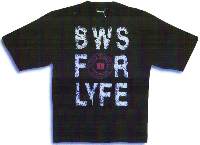 BLACKWALLSTREET BWS FOR LYFE T-SHIRT - BLACK