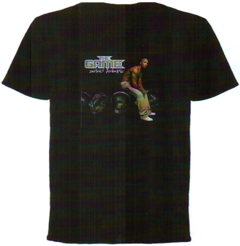 THE GAME DOCTORS ADVOCATE COVER T-SHIRT - BLACK