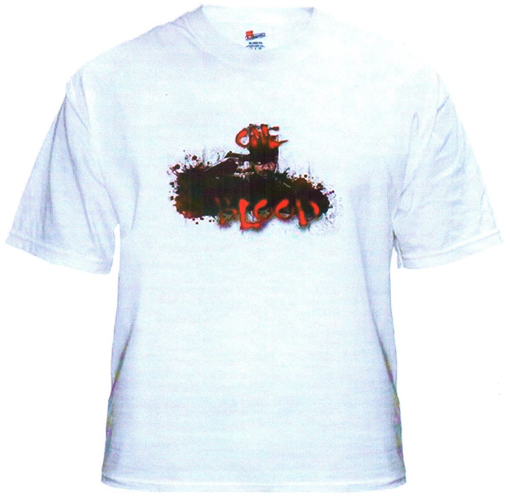 THE GAME ONE BLOOD T-SHIRT - WHITE