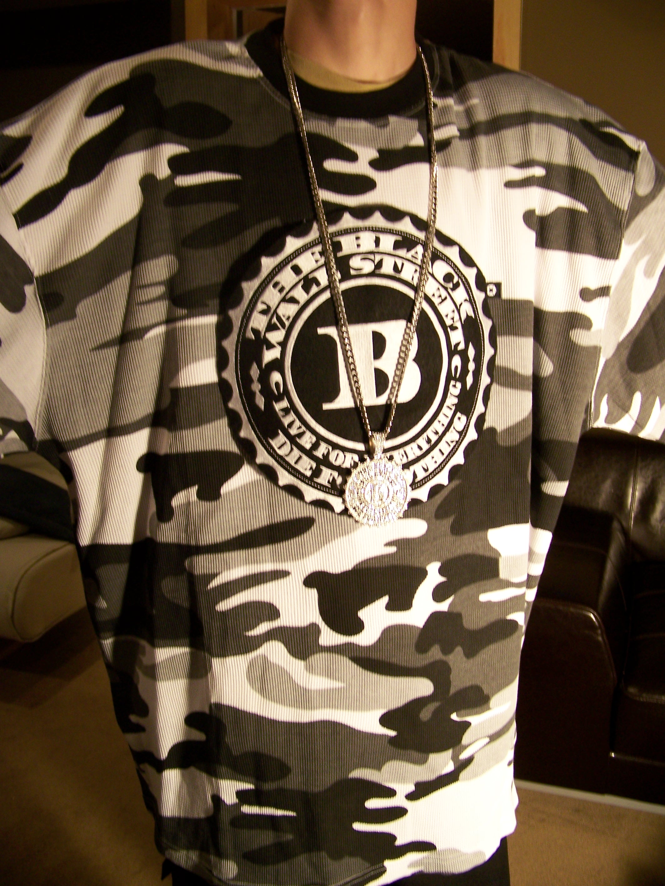 BLACKWALLSTREET LOGO THERMAL - CAMOFLAUGE